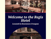Tablet Preview of hotelregis.com.mx